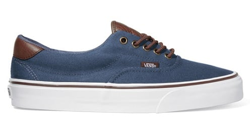 vans canvas leather