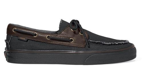 "Vans Classics Era & Zapato del Barco ""Canvas & Leather Pack"" - Spring 2012"