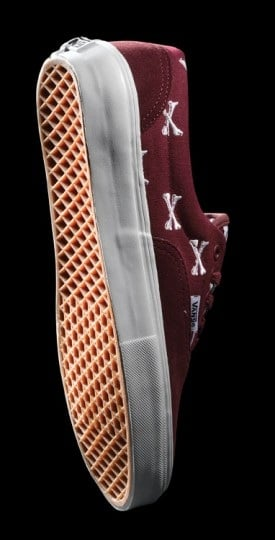 WTAPS x Vans Syndicate Burgundy Bones Pack - Official Brand Images