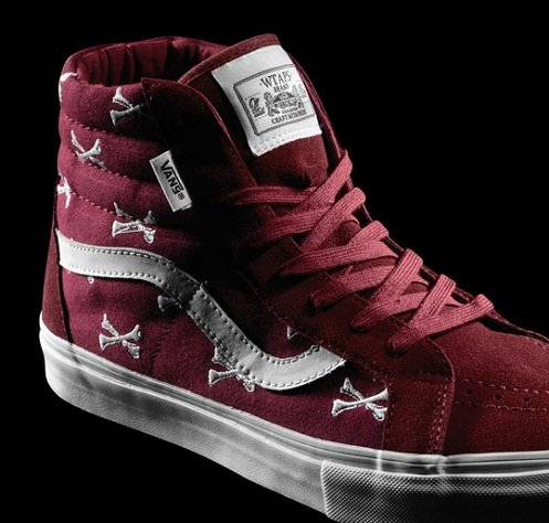 03bc21982e WTAPS x Vans Syndicate Burgundy Bones Pack - Official Brand Images ...