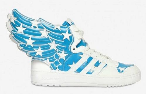 "adidas Originals x Jeremy Scott JS Wings ""Air Force Flag"""