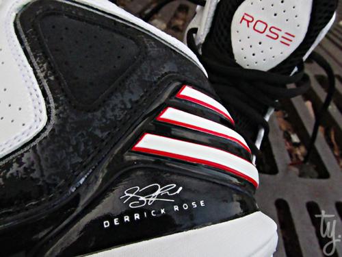 adidas adiZero Rose 773 White/ Black-Red