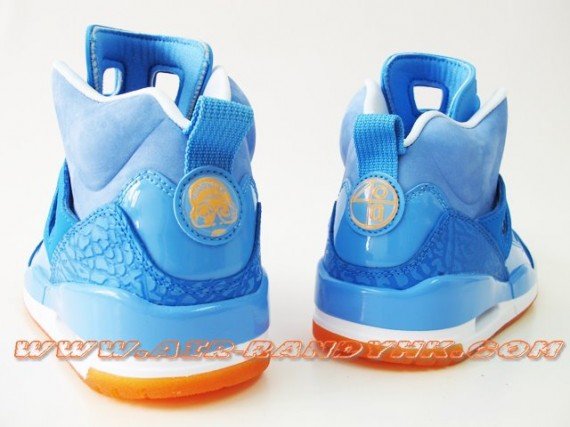 Air Jordan Spizike University Blue/Orange First Look