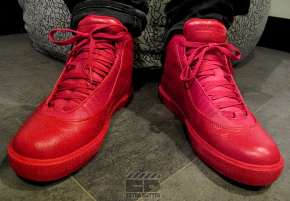 Air Jordan X Auto Clave Varsity Red Top