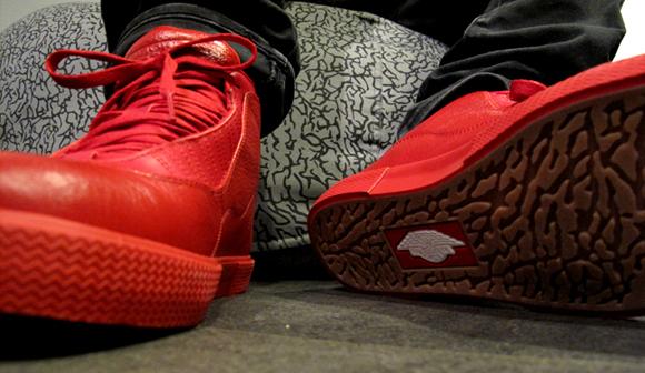 Air Jordan X Auto Clave Varsity Red
