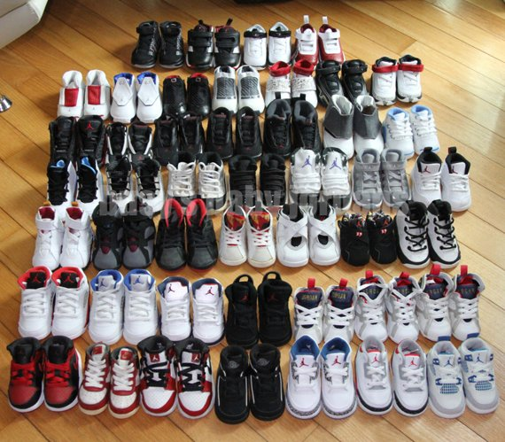 Busy's Baby Air Jordan Collection