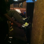 Celebrity Sneaker Watch: Wale Laces Up in Nike LeBron 8 DJ Clark Kent '112'