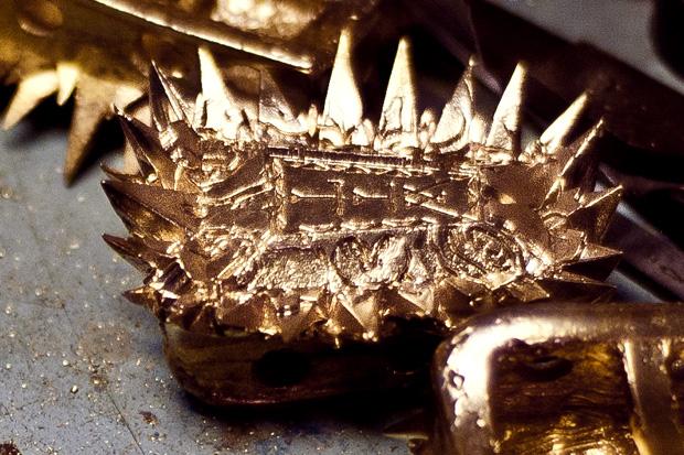 Gabriel Urist x Nike LeBron 9 Watch The Throne Jewel Piece