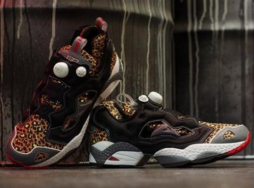 """mita sneakers x Reebok Insta Pump Fury """"Leopard"""""""