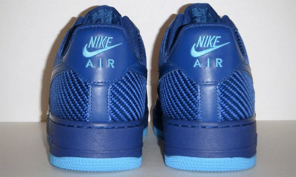 Nike Air Force 1 Low Deep Royal Blue 2012 Heel