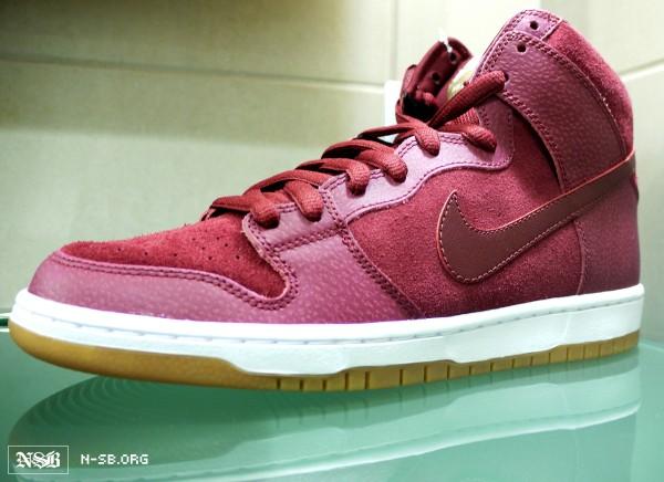 Nike SB Dunk High 'Burgundy Safari' - Fall 2012
