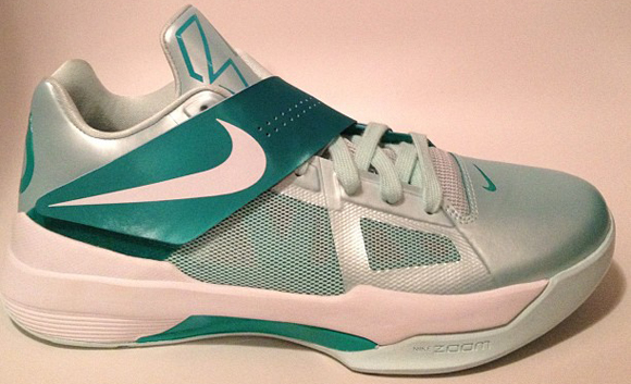 Nike Zoom KD IV (4) Easter Mint