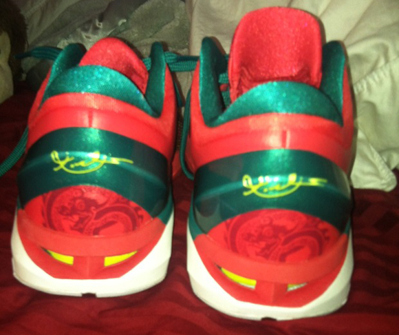 Nike Zoom Kobe VII (7) Year Of The Dragon Heel