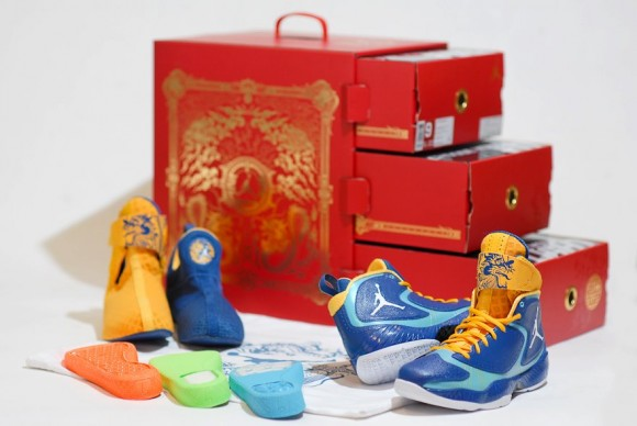 Air Jordan 2012 'Year Of The Dragon' Packaging
