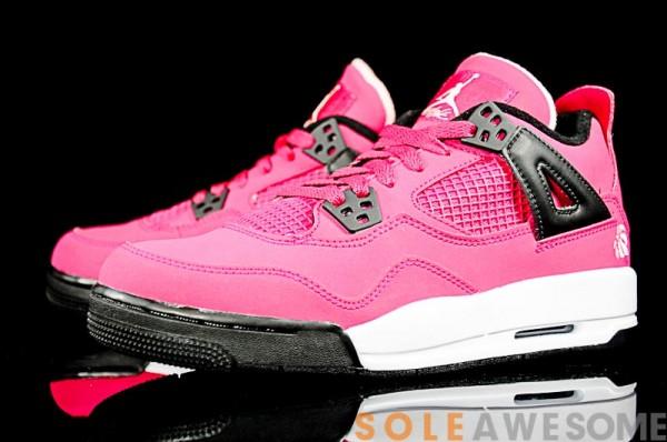 air jordan 4 pink gs