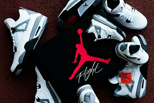 """Air Jordan Retro IV """"White Cement"""" - Full Size Run Photos"""