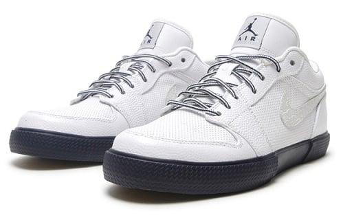 Air Jordan Retro V.1 - White/Obsidian-Wolf Grey