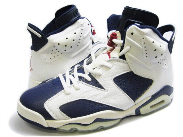save off 87b8e 10e7e Air Jordan VI (6) 'Olympic' - Release Info | SneakerFiles