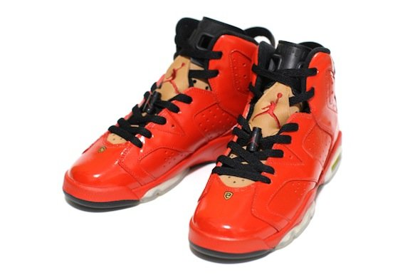 Air Jordan VI (6) 'Porsche 911' Custom by C2 Customs