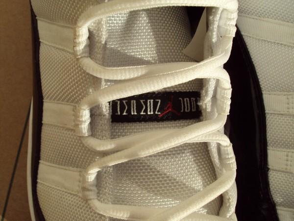 Air Jordan XI (11) 'Concord' Baseball Cleat - CC Sabathia PE
