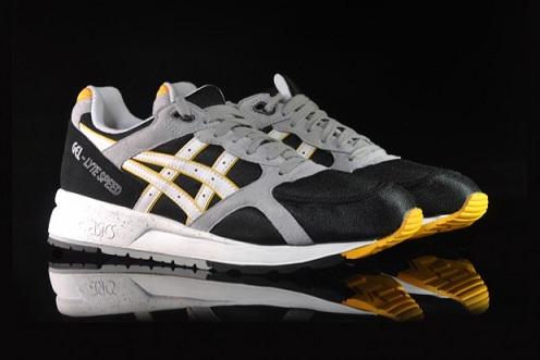 Asics Gel Lyte Speed - Black/Grey/Yellow