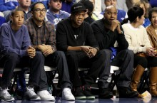 Celebrity Sneaker Watch: Jay-Z Takes in NYE Kentucky vs. Louisville Match-Up in Yeezy 2