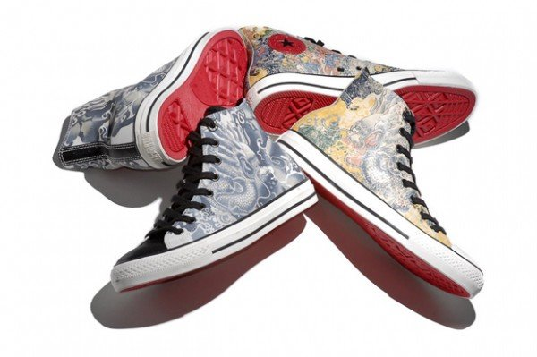 Converse Chuck Taylor All-Star Hi Porcelain Tattoo 'Year Of The Dragon'