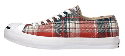 "Converse Jack Purcell Low ""Faded Check"""