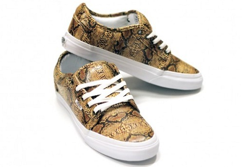 "In4mation x Vans Chukka Low ""Rattles"""