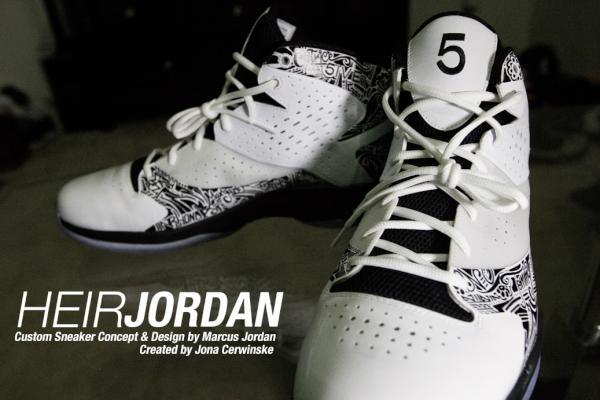Jordan Fly Wade 'Motivation' - Marcus Jordan Custom PE