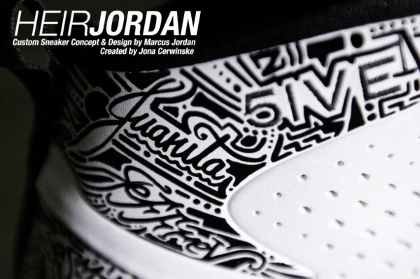 Jordan Fly Wade 'Motivation' - Marcus Jordan Custom PE