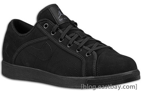 Jordan Sky High Court Low - Black/Anthracite