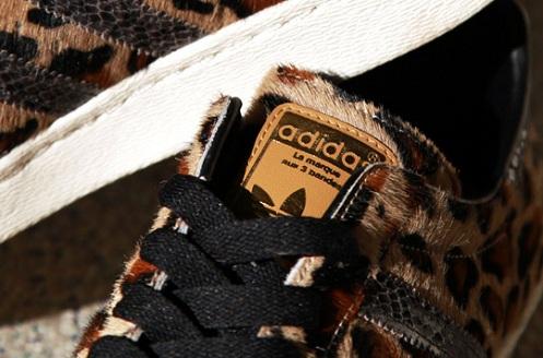"Kinetics x adidas Originals Superstar 80s ""Leopard"""
