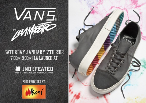Levi Maestro x Vans Vault Old Skool Decon 77 Launch Party @ UNDFTD LA