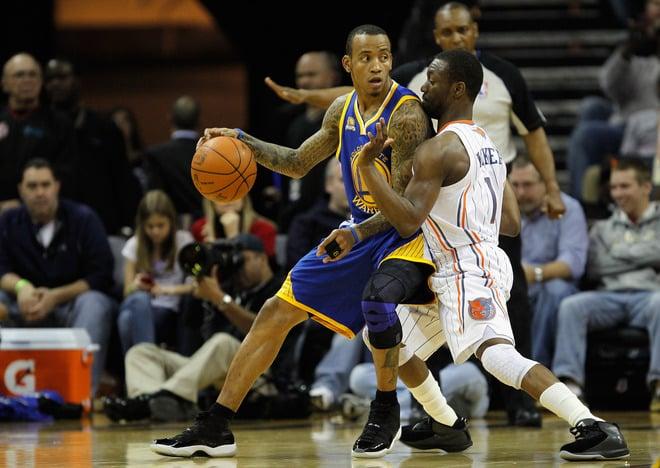 Monta Ellis Wears Air Jordan XI (11) 'Space Jam' vs. Charlotte Bobcats