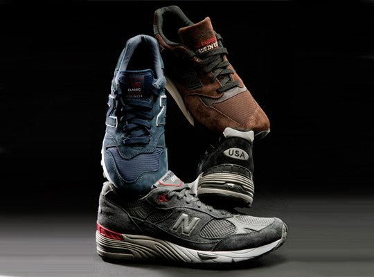 New Balance 'Made In USA' Collection - Spring 2012