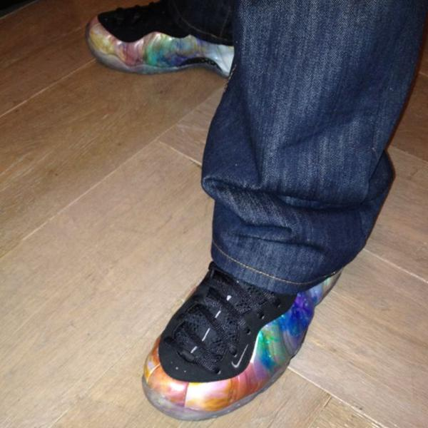 Nike Air Foamposite One 'Galaxy' - New Images + Possible Release