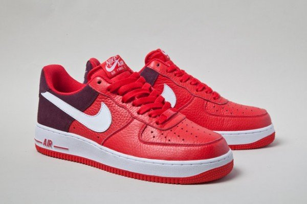 Nike Air Force 1 Low 'Red Bean' - First Look