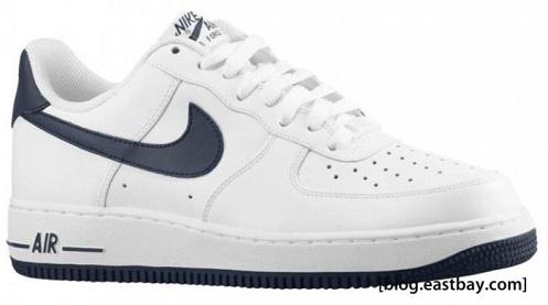 Nike Air Force 1 White / Obsidian