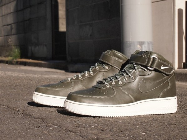 Nike Air Force 1 Mid Premium 'Olive Workboot' - Now Available