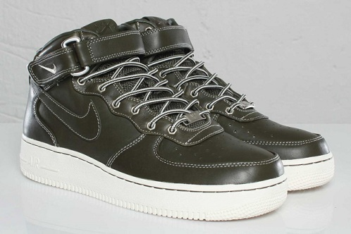 Nike Air Force 1 Workboot - Olive