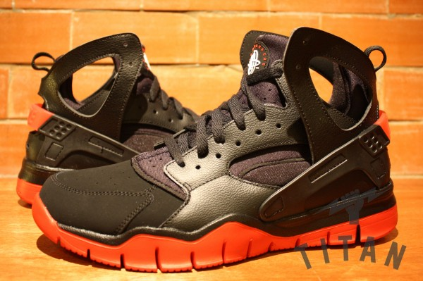 Nike Air Huarache BBall 2012 'Black/Sport Red' - Release Date + Info