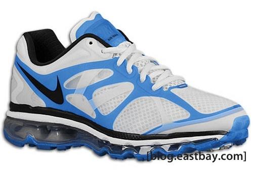 Nike Air Max+ 2012 - White/Blue Spark-Black