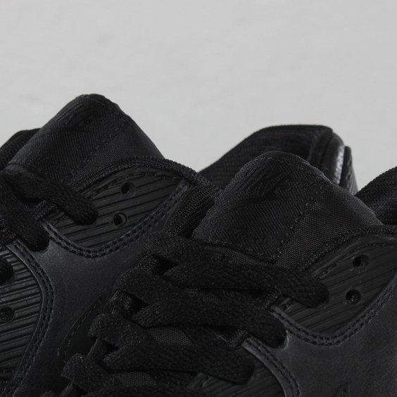 Nike Air Max 90 Premium 'Black' - Now Available