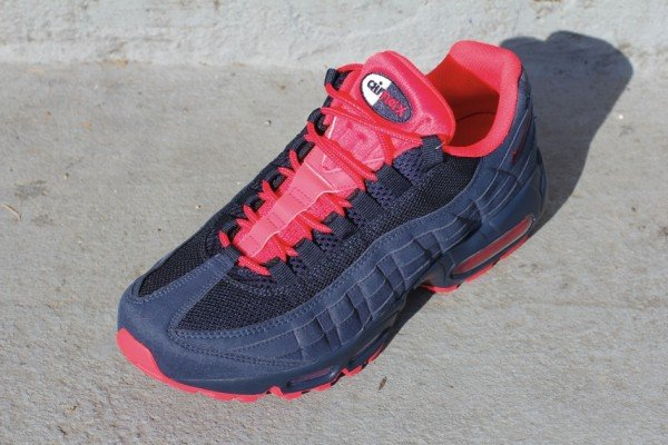 Nike Air Max 95 'Obsidian/Action Red' - Release Date + Info