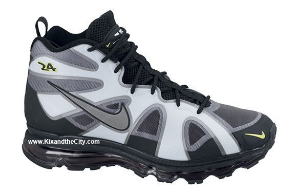 Nike Air Max Griffey Fury - Black/White-Action Green - Release Date + Info