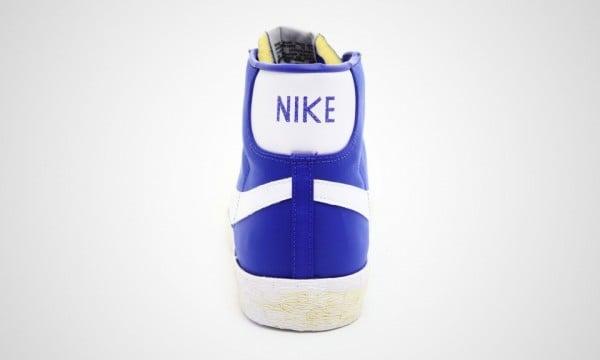 Nike Blazer High Nylon VNTG 'Royal' - Now Available