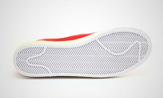 Nike Blazer Høy Vintage Varsity Red RyOCAj8