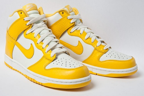 Nike Dunk High - Varsity Maize/White