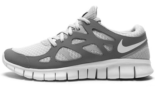 Nike Free Run+ 2 - Pure Platinum